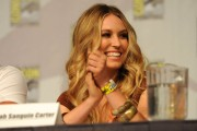 Сара Картер, фото 82. Sarah Carter Cast Of TNT's Falling Skies At Comic-Con - July 22, 2011, foto 82