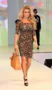 Katie Price (Jordan) On A Runway Showing Her Day 22 Collection In London August 7th HQ x 14