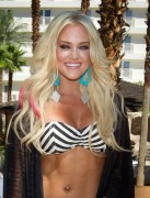 Лейси Швиммер, фото 202. Lacey Schwimmer hosts at REVEL pool party at Hard Rock Beach Club 06/08/'11, foto 202