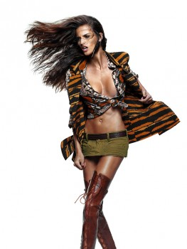 Изабель Гуларт, фото 1121. Izabel Goulart - Elle Brazil September 2011 / MQ, foto 1121,