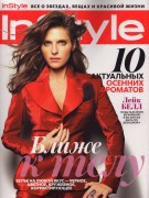 Lake Bell - InStyle Russia October 2011