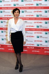 Кристин Скотт Томас, фото 80. Kristin Scott Thomas 'The Woman in the Fifth' Photocall at the International Rome Film Festival (30.10.2011), foto 80