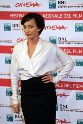 Кристин Скотт Томас, фото 69. Kristin Scott Thomas 'The Woman in the Fifth' Photocall at the International Rome Film Festival (30.10.2011), foto 69