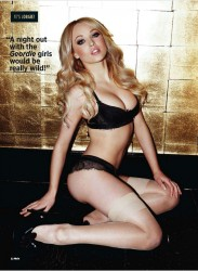Jorgie Porter Nuts UK Enero 2012