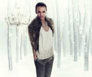 Лия Кебеде, фото 58. Liya Kebede - Ann Taylor Holiday 2011 LookBook (22x), foto 58