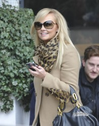Эмма Бантон, фото 2273. Jan. 23th - London - Emma Bunton Leaving ITV Studios, foto 2273