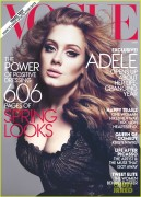 Adele - Vogue magazine March 2012