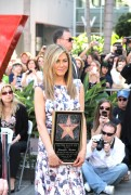 Дженнифер Анистон, фото 8645. Jennifer Aniston Inducted into the Hollywood Walk Of Fame - February 22, 2012, foto 8645