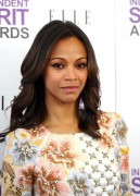 Зои Салдана, фото 2385. Zoe Saldana 2012 Film Independent Spirit Awards in Santa Monica - February 25, 2012, foto 2385