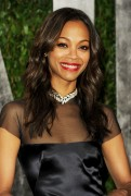 Зои Салдана, фото 2402. Zoe Saldana 2012 Vanity Fair Oscar Party - February 26, 2012, foto 2402