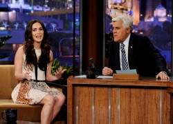 Меган Фокс, фото 7969. Megan Fox - The Tonight Show with Jay Leno, February 27th, foto 7969