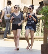Эшли Бенсон, фото 376. Ashley Benson at Busch Gardens in Tampa Bay 03/03/12*with Vanessa Hudgens, foto 376,