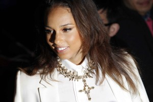 Алиша Киз (Алисия Кис), фото 3097. Alicia Keys Paris Fashion Week, 04.03.2012, foto 3097
