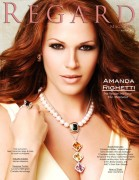 Amanda Righetti - Regard magazine August 2012 issue