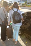 Jessica Biel - booty in jeans at LAX Airport in Los Angeles  08/31/12